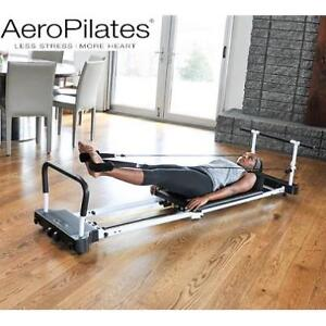 NEW AEROPILATES 5 CORD REFORMER - 131034932 - WITH PULL UP BAR