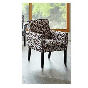 NEW MADISON PARK TYLER ARM CHAIR HOME - DECOR -ARM CHAIR - CHANTEL GRAY RUST 105392404