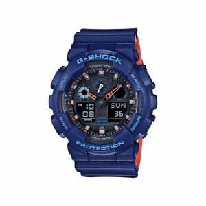 G-Shock Blue Resin Men's Watch  GA100L-2A