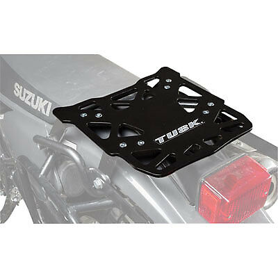 Tusk Aluminum Top Rack Suzuki DR650S 1996-2019,dual sport, adventure,luggage, Dual Sport Motorcycle Luggage