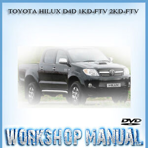 Toyota 2kd Engine Repair Manual