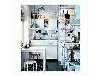 IKEA Melltorp Table White 75x75cm Kitchen Living Home