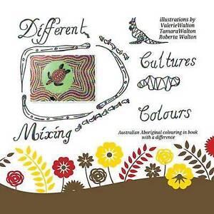 Different Cultures Mixing Colours Australian Aboriginal Colouri By Walton Valeri