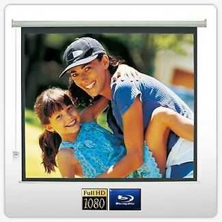 "150"" Motorised Projector Screen - Brand New RRP $551"
