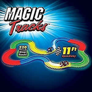 Magic tracks two sets with cars