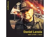 2x tickets to Daniel Lanois tonight at KOKO Camden