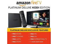 Amazon Kodi Box HDMI Software Full movie kids and sport content chipped box auto updates