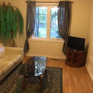 Sept 1/ Furnished 1 BDR/Downtown/Wifi/Cable/ Monthly