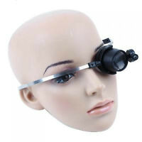 15x hands free loupe with led light