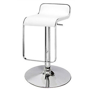 Cain Adjustable Bar/Counter Stool - White