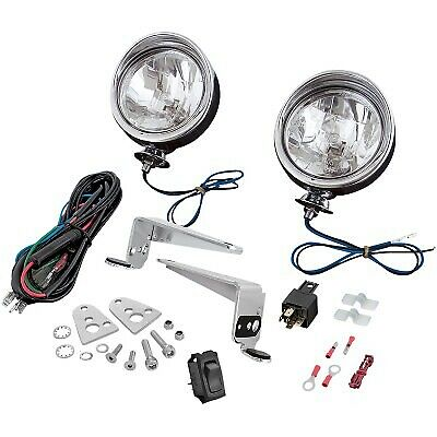 Show Chrome - 30-101 - Driving Light Kit, Halogen - 3-1/2in. - Chrome Victory Ma