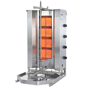 POTIS G2 SHAWARMA/GYRO GRILL (STAINLESS STEEL / RUST PROOF)