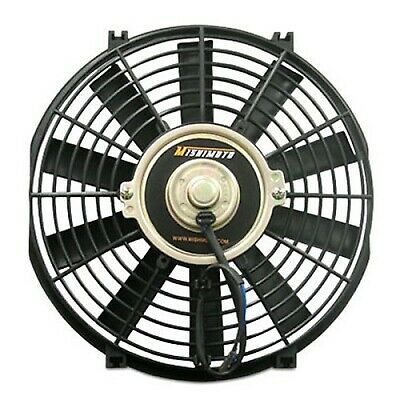 "Mishimoto 10"" Diameter Car Engine Radiator Slimline Electric Cooling Fan"