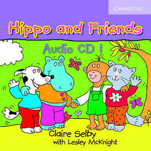 Hippo and Friends 1 Audio CD, Selby, Claire, Very Good condition, Book