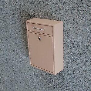 Locking Security Drop Box, Tan !!! BRAND NEW !!