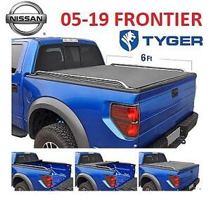 NEW* TYGER TRUCK BED TONNEAU COVER TG-BC2N2080 230915317 LOW PROFILE ROLL UP 2005 2019 NISSAN FRONTIER
