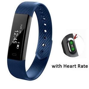 Smart Fit Bit Bracelet Fitness Watch Vibration Pedometer FitBit
