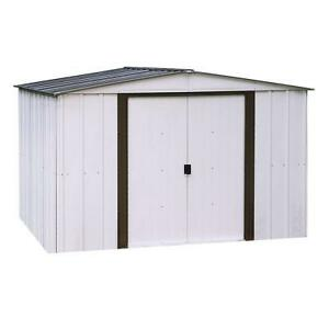 10x12 steel shed