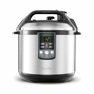 Breville-BPR600XL-034-Fast-Slow-Cooker-034-Electric-Pressure-Cooker-Plus-Slow-Cooker