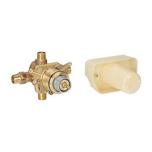 """Grohe 34331000 Grotherm Thermostat Rough In Valve 1/2"""""""