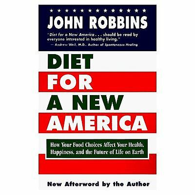 Diet for a new America by John Robbins (Paperback) Expertly Refurbished
