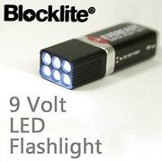 9 Volt LED Flashlight