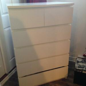 Commode Ikea blanc