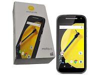 MOTO E (2nd Gen) 4G, Brand New, UNLOCKED, Android Marshmallow