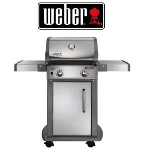 NEW WEBER S-210 NATURALGAS SS GRILL - 125453316 - SPIRIT - STAINLESS STEEL - 2 BURNERS