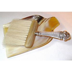 Sterling-Handled Crumb Brush With Tray Kingston Kingston Area image 1