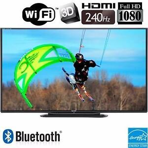 "SHARP AQUOS QUATTRON 70"" LED 3D SMART TV (1080p, 240Hz) *BRAND NEW WALL MOUNT INCLUDED*"