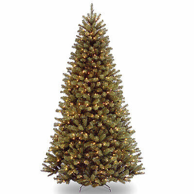 National Tree Co-Import 222111 7.5 ft. Green North Valley Spruce Artificial Hing