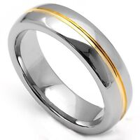 MAGNIFICENT HEAVY POLISHED TUNGSTEN UNISEX RING
