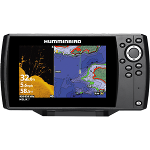 Humminbird Helix 7 CHIRP SI GPS G2n Combo 410340-1
