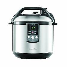 "Breville BPR600XL""Fast Slow Cooker"" Electric Pressure Cooker Plus Slow Cooker"
