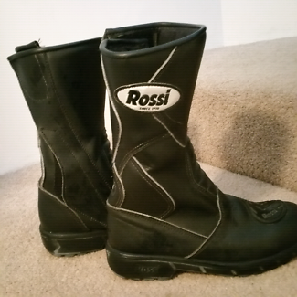 Rossi Size 7 leather motorbike boots Joondanna Stirling Area Preview