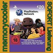 PSN Network Card 20