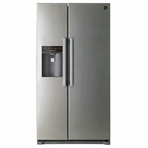 DAEWOO 608 Litre Side by Side Fridge Ice & Water Dispenser Bexley Rockdale Area Preview