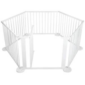6 Sides Baby Natural White Wooden Playpen Sydney City Inner Sydney Preview