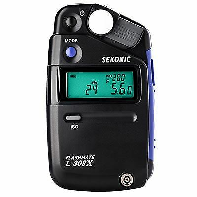 Sekonic L-308X Flashmate Light Meter 401-305