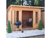 Mercia summer house