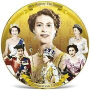 Coronation Plate 1953