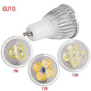 Cree GU10 9W LED Spotlight Bulb COB/Epistar Lamp