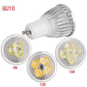 Cree GU10 9W LED Spotlight Bulb COB/Epistar Lamp