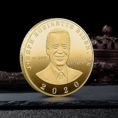 Joe Biden President Commemorative Souvenir Coin Challenge Collectible Coins 2020
