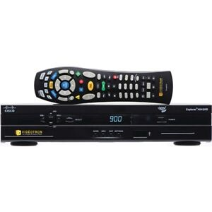 Videotron DVR Cisco 4642HD with remote and cables