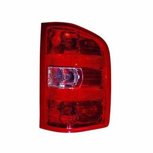 Chevrolet Silverado & GMC Sierra Passenger Side Tail Light