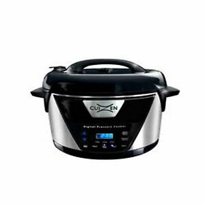 CuiZen 7.6 L Stainless Steel Oval Pressure Cooker