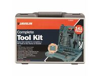 Complete Tool Kit - 141 Pieces BRAN NEW, RRP49.99
