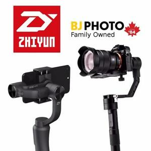 Zhiyun Crane 2, Crane Plus, and Smooth Q Stabilizers ** In Stock **